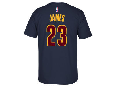 Cleveland Cavaliers Lebron James adidas NBA Men's Champ Player T-Shirt