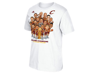 Cleveland Cavaliers NBA Youth Caricature Champ Parade T-Shirt