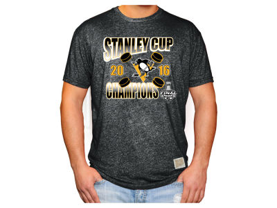 Pittsburgh Penguins NHL Men's Champ Mock Twist T-Shirt