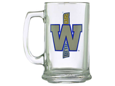 Winnipeg Blue Bombers Two Logo Sports Mug - 15oz