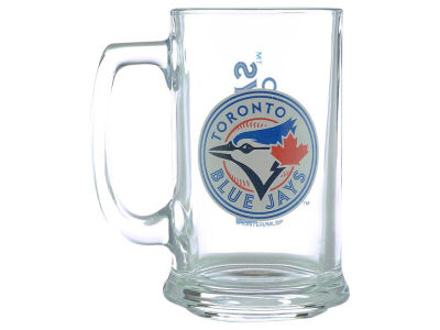 Toronto Blue Jays Two Logo Sports Mug - 15oz