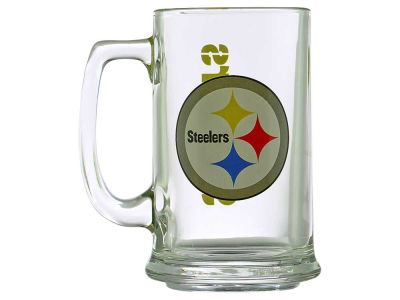 Pittsburgh Steelers Two Logo Sports Mug - 15oz
