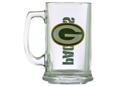 Green Bay Packers Two Logo Sports Mug - 15oz