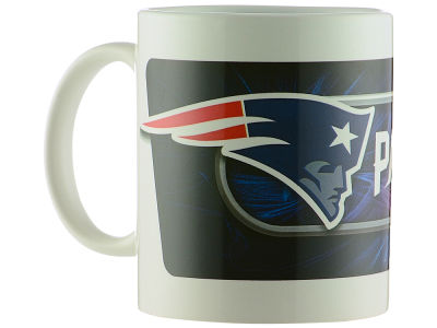 New England Patriots Sublimated Coffee Mug - 11oz