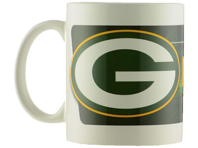 Green Bay Packers Sublimated Coffee Mug - 11oz