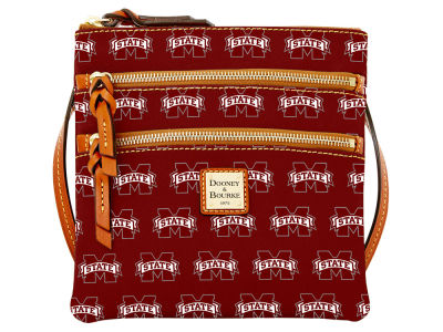 Mississippi State Bulldogs Dooney & Bourke Triple Zip Crossbody Bag