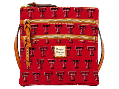 Texas Tech Red Raiders Dooney & Bourke Triple Zip Crossbody Bag