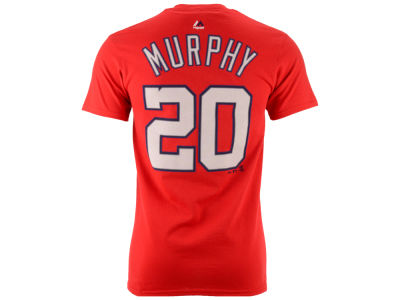 Washington Nationals Daniel Murphy Majestic MLB Men's Official Player T-Shirt