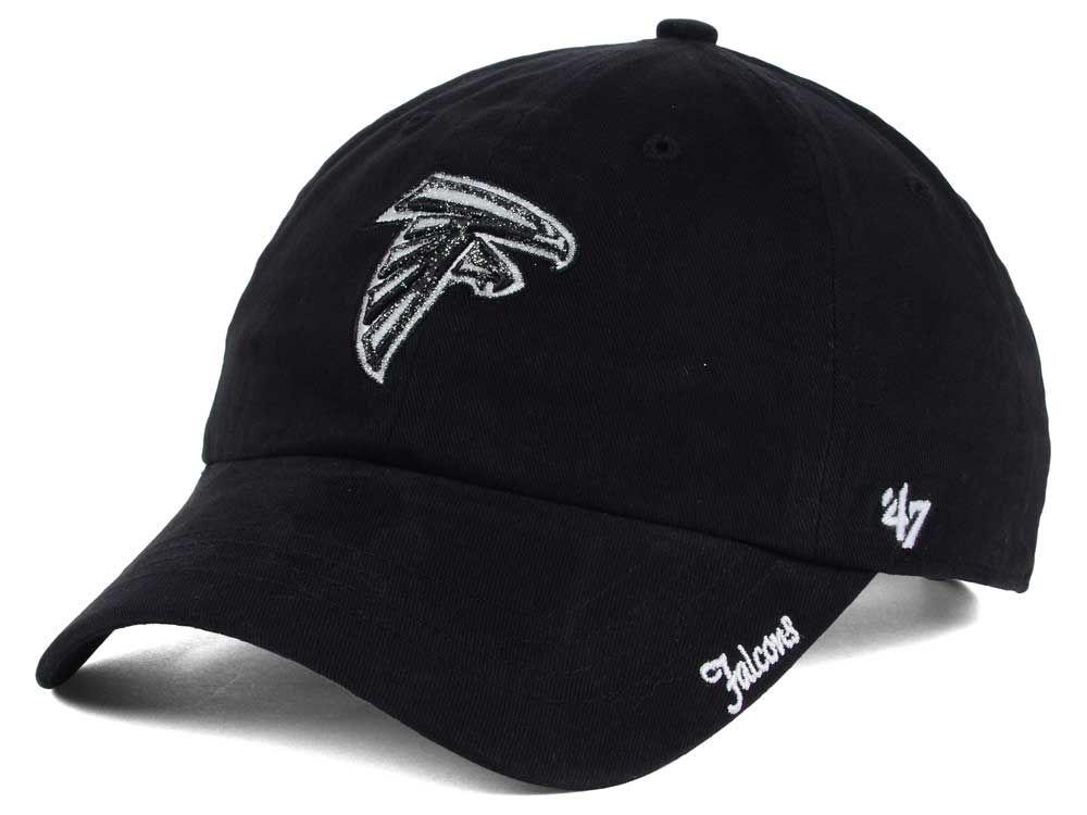 Atlanta Falcons NFL Women s Glitter Logo  47 CLEAN UP Cap  20480618f1