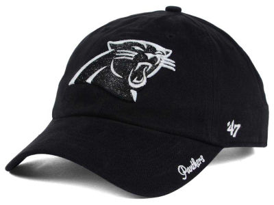 Carolina Panthers NFL Women's Glitter Logo '47 CLEAN UP Cap