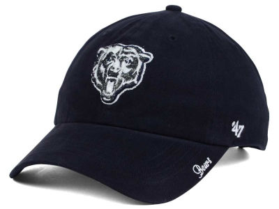 Chicago Bears NFL Women's Glitter Logo '47 CLEAN UP Cap