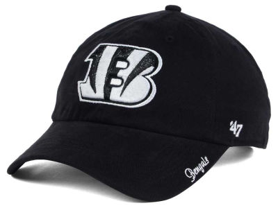 Cincinnati Bengals '47 NFL Women's Glitter Logo '47 CLEAN UP Cap