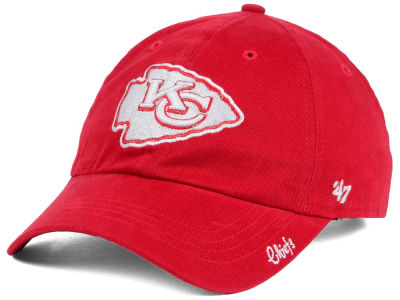 Kansas City Chiefs NFL Women's Glitter Logo '47 CLEAN UP Cap