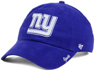 New York Giants NFL Women's Glitter Logo '47 CLEAN UP Cap