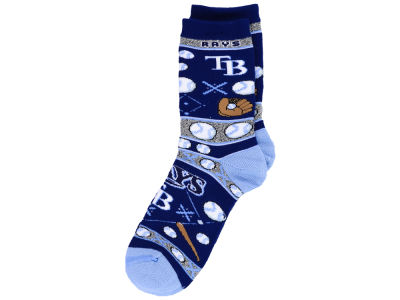 Tampa Bay Rays For Bare Feet 2016 Ugly Sweater Socks