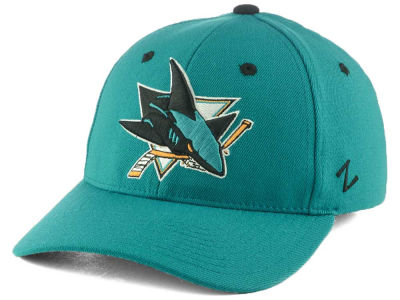 San Jose Sharks Zephyr NHL Breakaway Stretch Cap