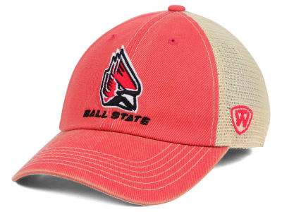 Ball State Cardinals Top of the World NCAA Wickler Mesh Cap