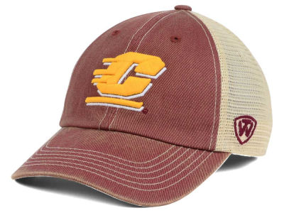 Central Michigan Chippewas Top of the World NCAA Wickler Mesh Cap