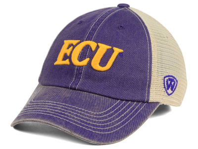 East Carolina Pirates Top of the World NCAA Wickler Mesh Cap