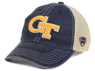 Georgia-Tech Top of the World NCAA Wickler Mesh Cap