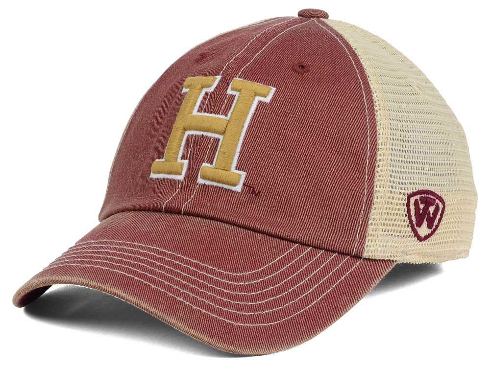 cc08004b4d4 Harvard Crimson Top of the World NCAA Wickler Mesh Cap
