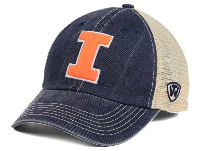 Illinois Fighting Illini Top of the World NCAA Wickler Mesh Cap