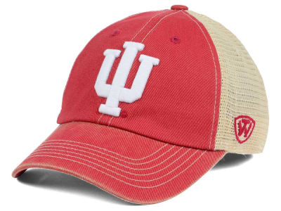 Indiana Hoosiers Top of the World NCAA Wickler Mesh Cap