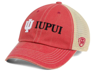 new arrival 6aa25 9302b IUPUI Jaguars Top of the World NCAA Wickler Mesh Cap