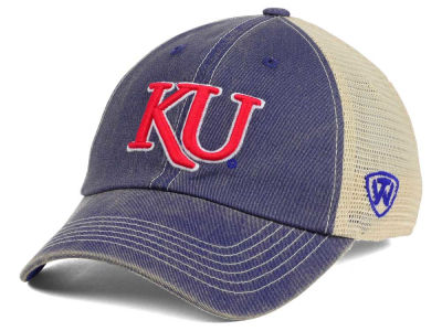 Kansas Jayhawks Top of the World NCAA Wickler Mesh Cap