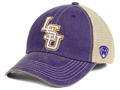 LSU Tigers Top of the World NCAA Wickler Mesh Cap