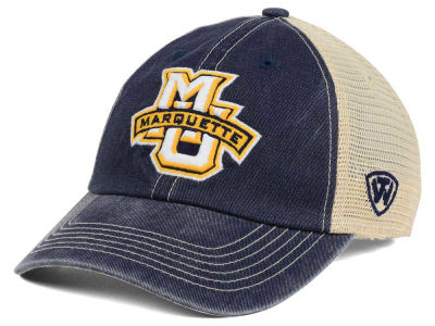 Marquette Golden Eagles Top of the World NCAA Wickler Mesh Cap
