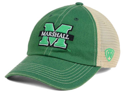 Marshall Thundering Herd Top of the World NCAA Wickler Mesh Cap