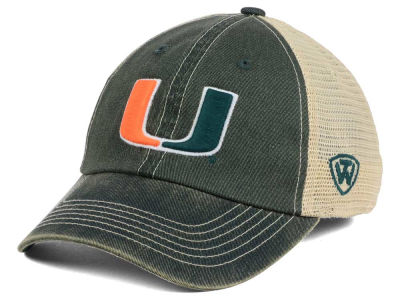 Miami Hurricanes Top of the World NCAA Wickler Mesh Cap