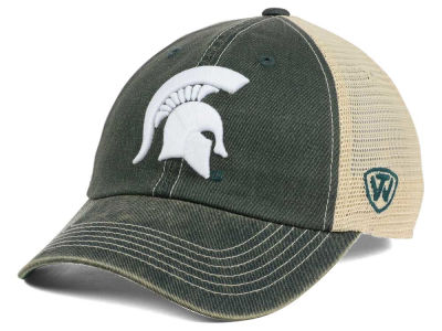 Michigan State Spartans Top of the World NCAA Wickler Mesh Cap