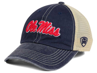 Ole Miss Rebels Top of the World NCAA Wickler Mesh Cap