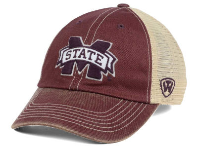 Mississippi State Bulldogs Top of the World NCAA Wickler Mesh Cap