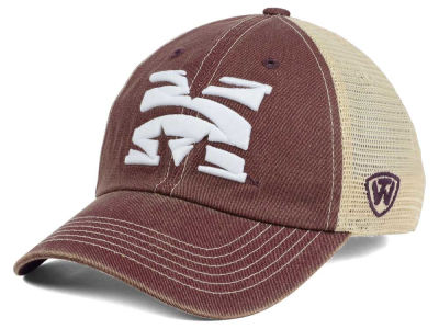 Morehouse Maroon Tigers Top of the World NCAA Wickler Mesh Cap