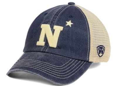 Navy Midshipmen Top of the World NCAA Wickler Mesh Cap