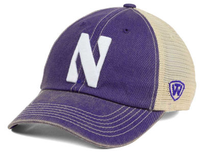 Northwestern Wildcats Top of the World NCAA Wickler Mesh Cap