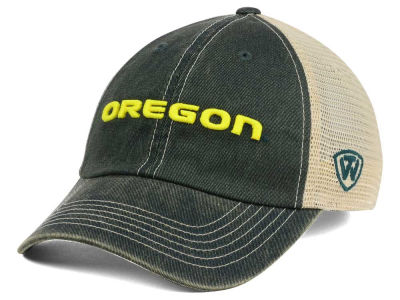 Oregon Ducks Top of the World NCAA Wickler Mesh Cap