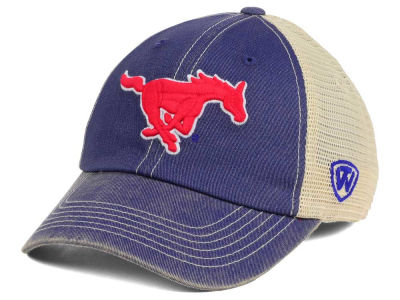 Southern Methodist Mustangs Top of the World NCAA Wickler Mesh Cap