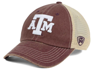 Texas A&M Aggies Top of the World NCAA Wickler Mesh Cap