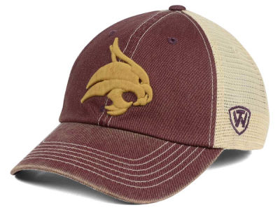 Texas State Bobcats Top of the World NCAA Wickler Mesh Cap