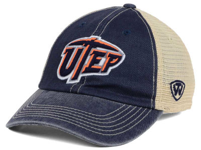 UTEP Miners Top of the World NCAA Wickler Mesh Cap