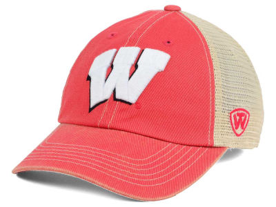 Wisconsin Badgers Top of the World NCAA Wickler Mesh Cap