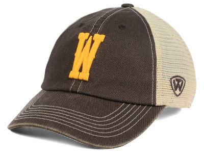 Wyoming Cowboys Top of the World NCAA Wickler Mesh Cap