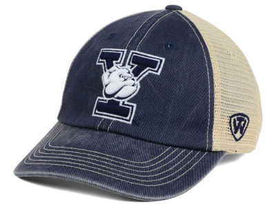Yale Bulldogs Top of the World NCAA Wickler Mesh Cap