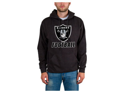 Oakland Raiders NFL Men's Wing T Formation Hoodie