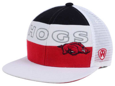 Arkansas Razorbacks Top of the World NCAA Midcourt Snapback Cap