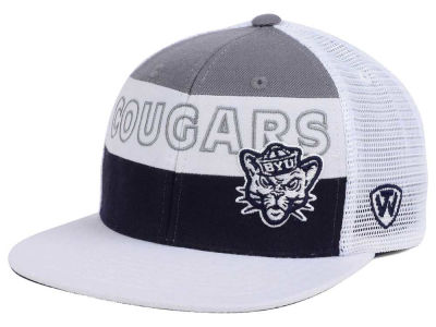 Brigham Young Cougars Top of the World NCAA Midcourt Snapback Cap